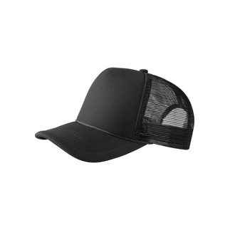 MasterDis Baseballcap Trucker High Profile schwarz