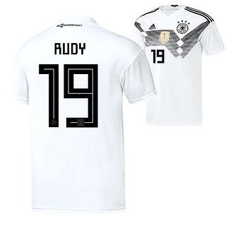 Adidas Deutschland WM 2018 DFB Trikot Heim RUDY
