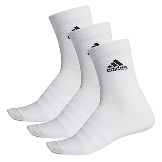Adidas Sportsocken 3er Pack LIGHT CREW Weiß