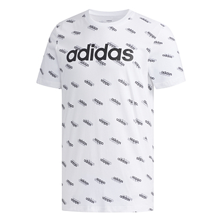 Adidas T-Shirt M FAV Weiß