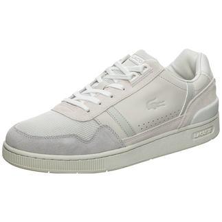 LACOSTE Sneaker T-Clip weiß/grau