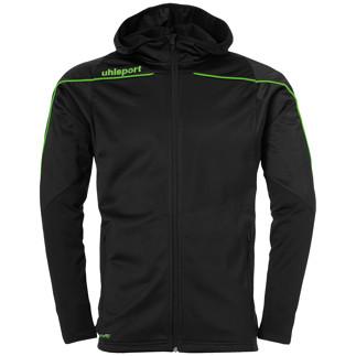 uhlsport Trackjacke Stream 22 schwarz/grün