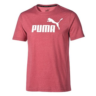 Puma T-Shirt ESS No. 1 Bordeaux