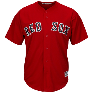 Majestic Athletic Boston Red Sox Replica Cool Base Trikot rot
