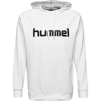hummel Hoodie Cotton Logo weiß
