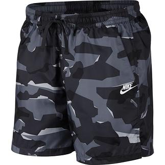 Nike Freizeit- und Badeshorts CAMO Schwarz
