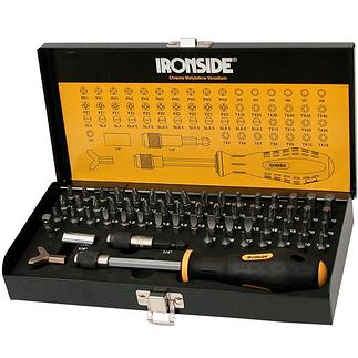 Ironside Bit-Satz 60tlg. schwarz