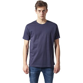 URBAN CLASSICS T-Shirt Basic navy