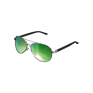 MasterDis Sonnenbrille Mumbo silber/grün