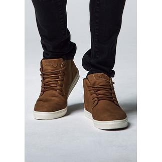 URBAN CLASSICS Sneaker Hibi Mid toffee/weiß