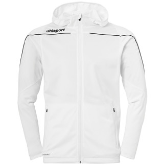 uhlsport Trackjacke Stream 22 weiß/schwarz