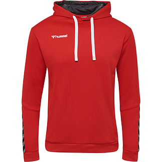 hummel Hoodie Authentic Poly rot
