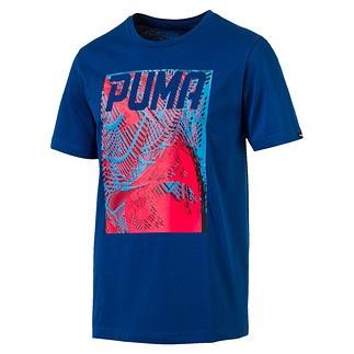 Puma T-Shirt DYNAMO Blau