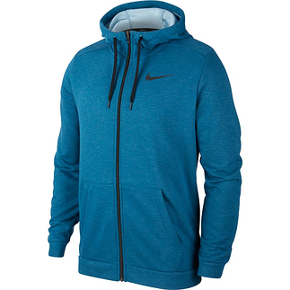 Nike Kapuzensweatjacke Dri-Fit Blau