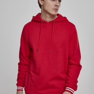 URBAN CLASSICS Hoodie College rot