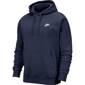 Nike Hoodie Club Uni Blau