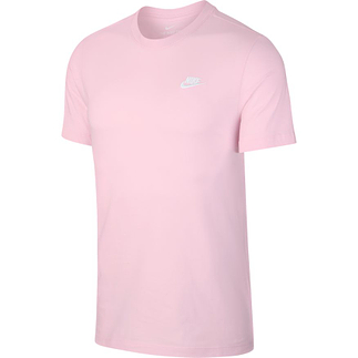 Nike T-Shirt Klassik Rosa/Weiß