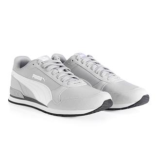 Puma Sneaker Runner Grau/Weiß