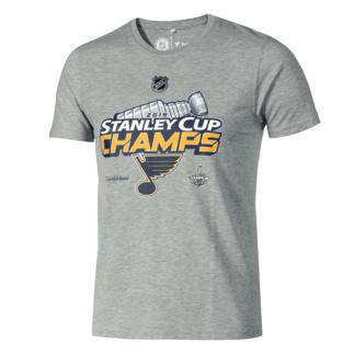 Fanatics St. Louis Blues Stanley Cup Winner 2019 T-Shirt Grau