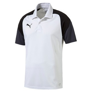 Puma Polo Shirt Team Weiß/Schwarz