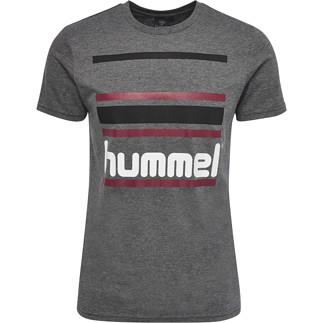 hummel T-Shirt Barion dunkelgrau