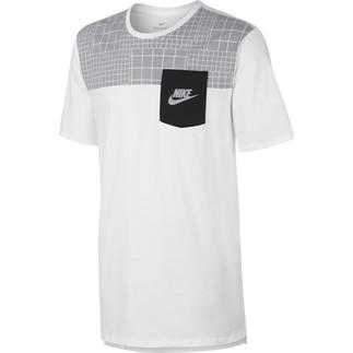Nike T-Shirt Pocket Weiß