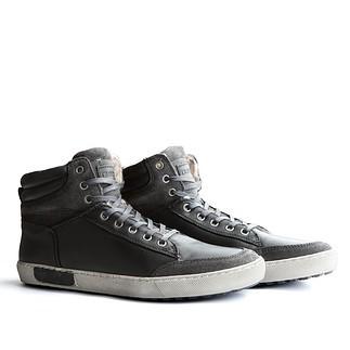 TRAVELIN OUTDOOR Winter Sneaker Sandvik dunkelgrau