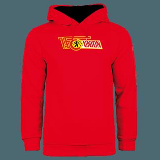 1. FC Union Berlin Hoodie Logo rot
