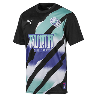 Puma Trikot New Levels Retro Schwarz