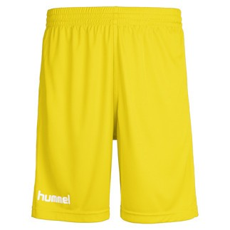 hummel Shorts Core Poly gelb