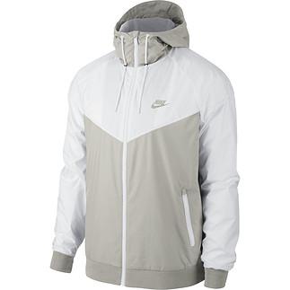 Nike Kapuzenjacke Windrunner Grau/Weiß/Grau