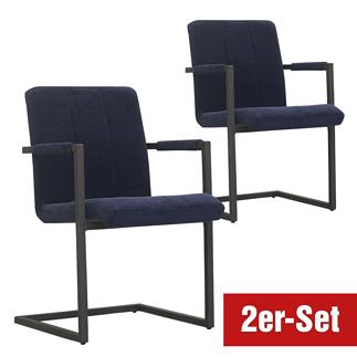 BREAZZ Stuhl Chairactor 2er Set blau