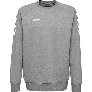 hummel Sweatshirt Cotton grau