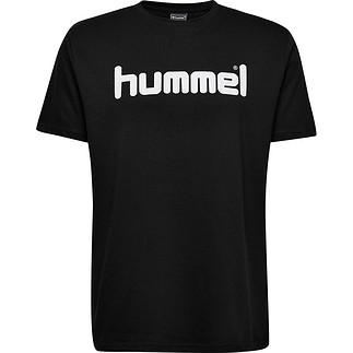 hummel T-Shirt Cotton Logo schwarz