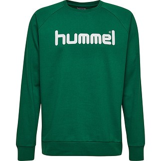 hummel Sweatshirt Cotton Logo grün