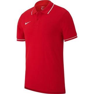 Nike Poloshirt Club 19 Rot