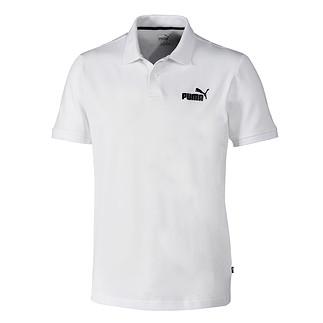 Puma Poloshirt ESS weiß/schwarz