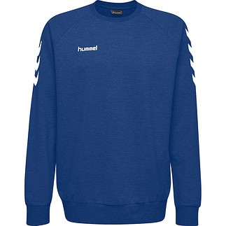 hummel Sweatshirt Cotton blau