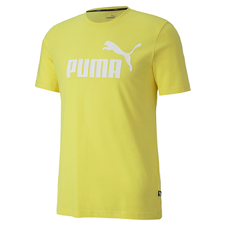Puma T-Shirt ESS No.1 Yellow