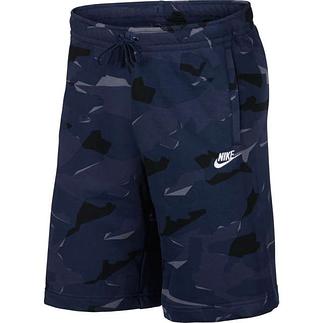 Nike Freizeitshorts CAMO Blau/Schwarz