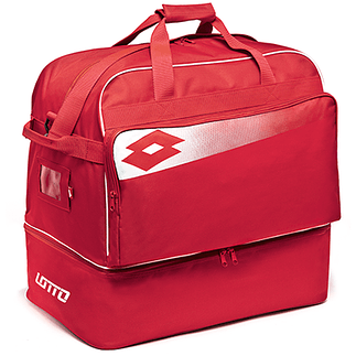 Lotto Fußballtasche Omega II rot/weiß