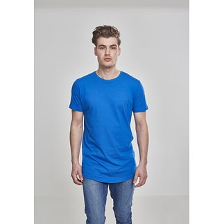 URBAN CLASSICS T-Shirt Shaped Long brightblue