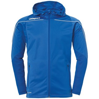 uhlsport Trackjacke Stream 22 azurblau/weiß