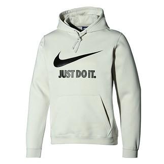 Nike Hoodie Sportswear hellgrau/schwarz