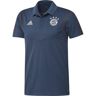Adidas FC Bayern München 3S Polo Shirt 2019/2020 Blau