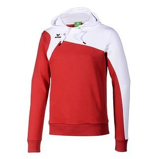 Erima Hoodie Club 1900 rot/weiß