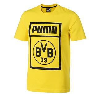 Puma Borussia Dortmund T-Shirt Shoe Tag gelb