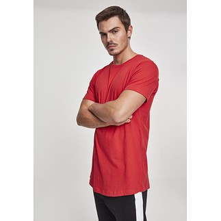 URBAN CLASSICS T-Shirt Shaped Long Rot