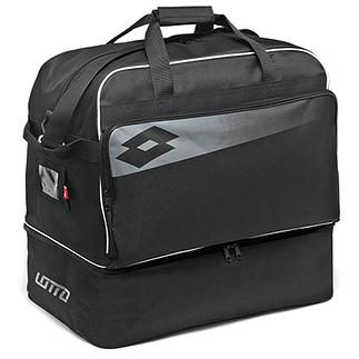 Lotto Fußballtasche Omega II schwarz/grau