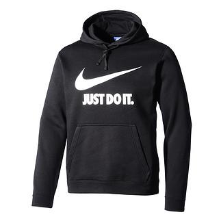 Nike Hoodie Sportswear schwarz/weiß